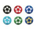 600 Original Soccer Value Pack (100 Black, Red, Blue, Green. Lt. Blue, Blue/Yellow)
